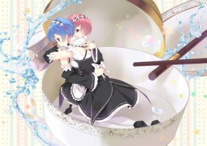 Rating: Safe Score: 57 Tags: mad_hatter_(artist) maid ram_(re_zero) re_zero_kara_hajimeru_isekai_seikatsu rem_(re_zero) User: Mr_GT