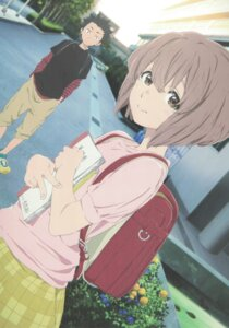 Rating: Safe Score: 37 Tags: ishida_shouya koe_no_katachi nishimiya_shouko User: yswysc
