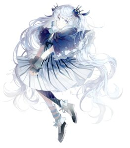 Rating: Safe Score: 38 Tags: dress fuyu_no_yoru_miku goodman_(modapi95) hatsune_miku vocaloid User: KazukiNanako