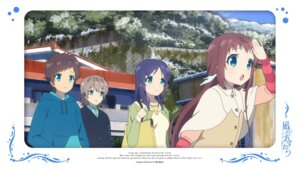 Rating: Safe Score: 9 Tags: hiradaira_chisaki isaki_kaname mukaido_manaka nagi_no_asukara sakishima_hikari User: alice4