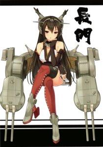 Rating: Safe Score: 43 Tags: cleavage heels kantai_collection nagato_(kancolle) neko_works sayori thighhighs User: yong