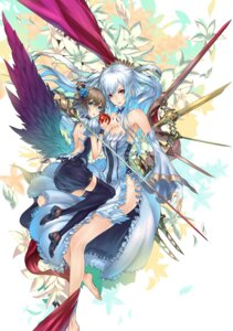 Rating: Safe Score: 47 Tags: 2d cleavage dress sword wings User: Nekotsúh