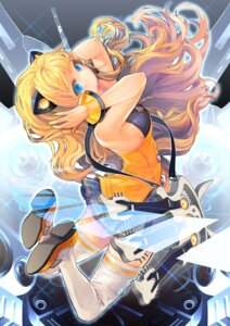 Rating: Safe Score: 27 Tags: seeu serenade thighhighs vocaloid User: blooregardo