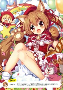 Rating: Safe Score: 44 Tags: akabane animal_ears big_bad_wolf dress little_red_riding_hood_(character) User: Twinsenzw