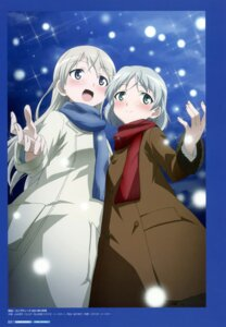 Rating: Questionable Score: 5 Tags: eila_ilmatar_juutilainen sanya_v_litvyak strike_witches yamamoto_shuuhei User: Nepcoheart