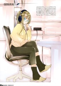Rating: Safe Score: 9 Tags: fujishima headphones megane raving_phantom User: Hatsukoi