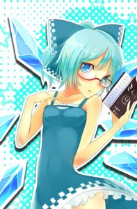 Rating: Safe Score: 15 Tags: cirno kakei megane touhou wings User: charunetra