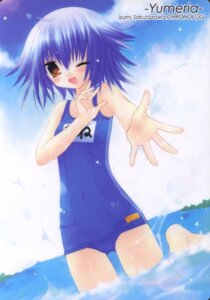 Rating: Safe Score: 11 Tags: chronolog mone sakurazawa_izumi school_swimsuit swimsuits yumeria User: fireattack