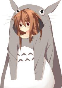Rating: Safe Score: 22 Tags: cosplay kuwashima_rein tororoin_niina totoro User: SubaruSumeragi