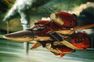 Rating: Safe Score: 4 Tags: macross mecha tenjin_hidetaka the_super_dimension_fortress_macross User: Radioactive
