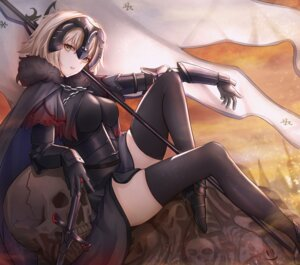Rating: Safe Score: 28 Tags: armor fate/grand_order heels jeanne_d'arc jeanne_d'arc_(alter)_(fate) smile_(dcvu7884) sword thighhighs User: Mr_GT