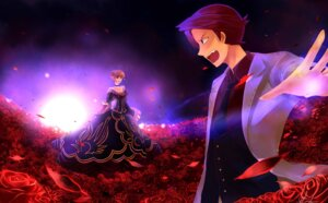 Rating: Safe Score: 4 Tags: beatrice feesh umineko_no_naku_koro_ni ushiromiya_battler User: charunetra
