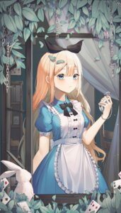 Rating: Safe Score: 24 Tags: alice alice_in_wonderland dress shurb_05 white_rabbit User: Dreista