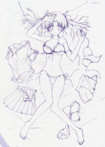 Rating: Questionable Score: 13 Tags: bikini ef_~a_fairytale_of_the_two~ hayama_mizuki monochrome nanao_naru sketch swimsuits User: admin2