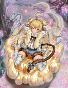 Rating: Safe Score: 33 Tags: anchira_(granblue_fantasy) animal_ears granblue_fantasy keita_(kta0) tail thighhighs User: Mr_GT