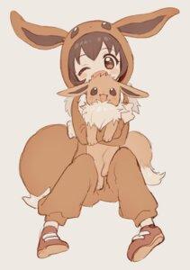Rating: Questionable Score: 8 Tags: amezawa_koma eevee pokemon User: 736514522