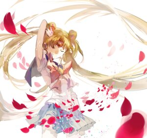 Rating: Safe Score: 10 Tags: cathyinaba sailor_moon seifuku tsukino_usagi User: charunetra