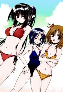 Rating: Safe Score: 24 Tags: bikini himari kuzaki_rinko matra_milan megane omamori_himari swimsuits User: xxdcruelifexx