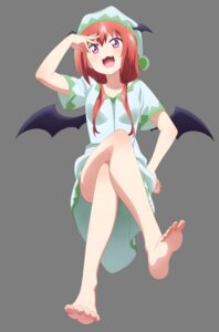 Rating: Safe Score: 64 Tags: feet gabriel_dropout kurumizawa_satanichia_mcdowell pajama transparent_png watanabe_mai wings User: Mekdra