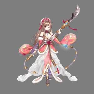 Rating: Questionable Score: 7 Tags: asian_clothes cleavage hoshi_no_girls_odyssey no_bra transparent_png weapon User: Radioactive