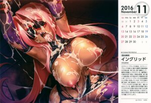 Rating: Explicit Score: 53 Tags: bondage breasts calendar cum kagami lilith_soft nipples no_bra nopan open_shirt pussy tattoo thighhighs torn_clothes User: eccdbb