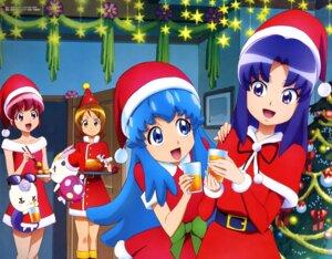 Rating: Safe Score: 6 Tags: aino_megumi christmas dress gura-san happiness_charge_precure! hikawa_iona hoshino_mamoru oomori_yuuko pretty_cure ribbon_(precure) shirayuki_hime_(precure) User: drop