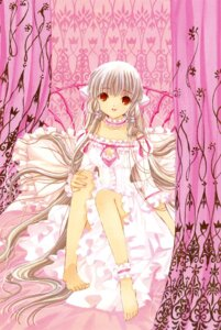 Rating: Safe Score: 23 Tags: chii chobits clamp dress feet garter lolita_fashion User: Share