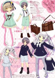 Rating: Safe Score: 15 Tags: pantyhose screening seifuku sketch tenshi_no_three_piece! tinkerbell tinkle User: kaguya940385