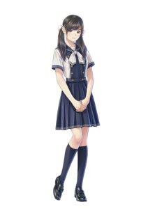 Rating: Safe Score: 25 Tags: lover mino_taro seifuku takamura_riria User: saemonnokami