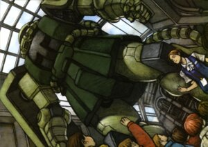 Rating: Safe Score: 2 Tags: gundam gundam_f91 mecha mobile_suit_gundam ms-06_zaku_ii User: Share