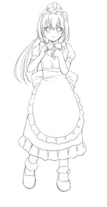 Rating: Safe Score: 3 Tags: a1 hayase_mitsuki initial-g kimi_ga_nozomu_eien maid monochrome User: Radioactive