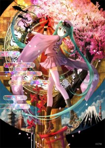 Rating: Safe Score: 44 Tags: fuzichoko hatsune_miku senbon-zakura_(vocaloid) thighhighs vocaloid User: 23yAyuMe
