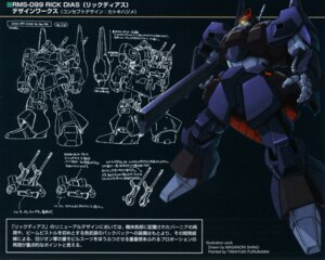 Rating: Safe Score: 5 Tags: gundam katoki_hajime mecha rick_dias shino_masanori zeta_gundam User: Radioactive