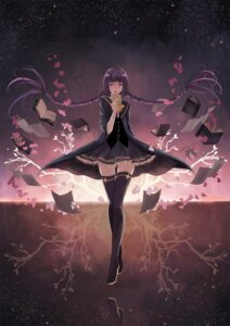 Rating: Safe Score: 42 Tags: amano_tooko bungaku_shoujo thighhighs zoushi_renxing User: MyNameIs