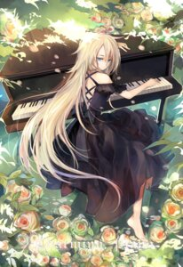 Rating: Safe Score: 60 Tags: aki_(wishtakeme) dress ia_(vocaloid) no_bra vocaloid User: Mr_GT