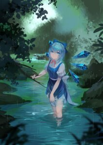 Rating: Safe Score: 28 Tags: cirno dress kamachi_kamachi-ko see_through touhou wet wet_clothes wings User: Mr_GT