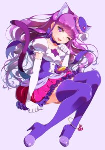 Rating: Safe Score: 13 Tags: animal_ears dress heels kirakira_precure_a_la_mode kotozume_yukari nekomimi pretty_cure tail thighhighs yupiteru User: cosmic+T5