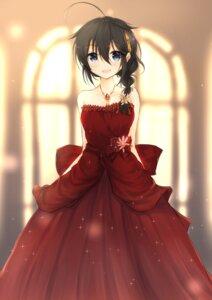Rating: Safe Score: 21 Tags: dress kantai_collection shigure_(kancolle) uzuki_tsukuyo User: Mr_GT