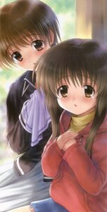Rating: Safe Score: 4 Tags: clannad goto-p ibuki_fuuko ibuki_kouko User: Radioactive