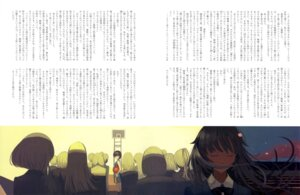Rating: Safe Score: 5 Tags: bakemonogatari basketball kanbaru_suruga seifuku senjougahara_hitagi text vofan User: drop