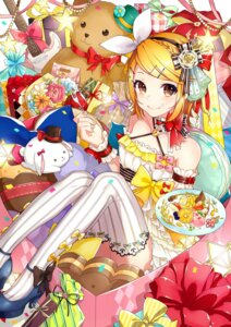 Rating: Safe Score: 37 Tags: gari guitar heels kagamine_rin thighhighs vocaloid User: RyuZU