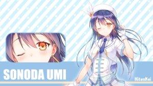 Rating: Questionable Score: 35 Tags: hiten love_live! sonoda_umi wallpaper User: 麻里子