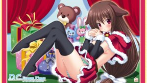 Rating: Questionable Score: 27 Tags: animal_ears christmas circus da_capo da_capo_dream_x'mas da_capo_(series) nanami_ayane nekomimi pantsu sagisawa_yoriko shimapan thighhighs wallpaper User: Radioactive