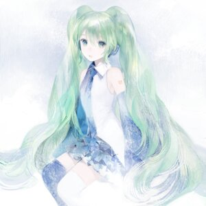 Rating: Safe Score: 17 Tags: hatsune_miku matayoshi thighhighs vocaloid User: 23yAyuMe
