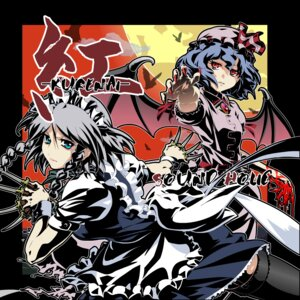 Rating: Safe Score: 5 Tags: izayoi_sakuya remilia_scarlet touhou User: konstargirl