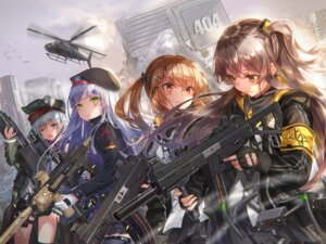 Rating: Safe Score: 44 Tags: g11_(girls_frontline) girls_frontline gun hk416_(girls_frontline) sakura_honoka_(srhk0623) thighhighs ump45_(girls_frontline) ump9_(girls_frontline) User: BattlequeenYume