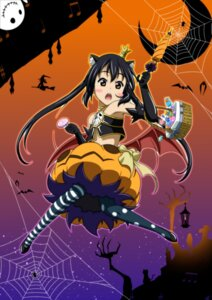 Rating: Safe Score: 23 Tags: animal_ears halloween jpeg_artifacts k-on! nakano_azusa nekomimi oku_no_shi User: shebang