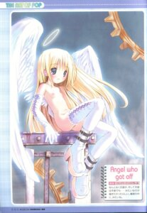 Rating: Questionable Score: 33 Tags: angel loli naked nipples pop wings User: petopeto