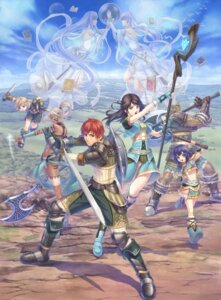 Rating: Safe Score: 10 Tags: afroca eresia falcom feena kimo reah sword tagme ys ys_iv User: Radioactive