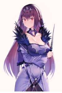 Rating: Safe Score: 39 Tags: breast_hold cleavage dress fate/grand_order scathach_skadi ssamjang_(misosan) weapon User: Mr_GT